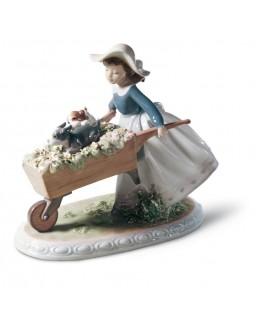FIguras regalo de Lladró Figura Niña a la Carrera