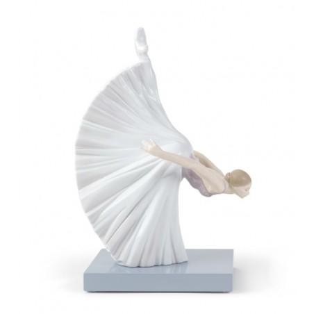 FIguras regalo de Lladró Figura Bailarina Giselle Reverencia