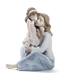 FIguras regalo de Lladró Figura Madre mi Pequeña