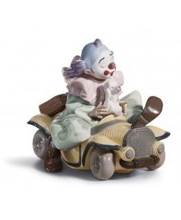 FIguras regalo de Lladró Figura Payaso Autos Locos