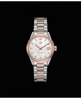 Reloj Tag Heuer Carrera Oro Rosa y Diamantes