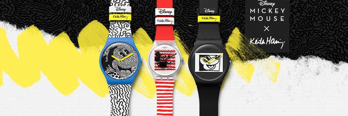 Colección Mickey Mouse de Swatch al Mejor Precio