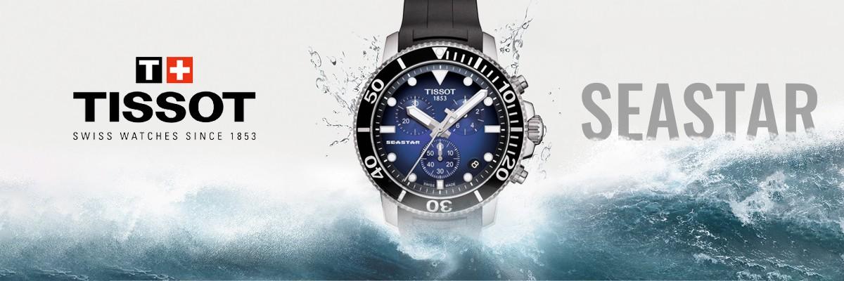 Tissot Seastar en Oferta. Relojes al Mejor Precio Garantizado.